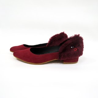 Madam Monster Pumps - Red