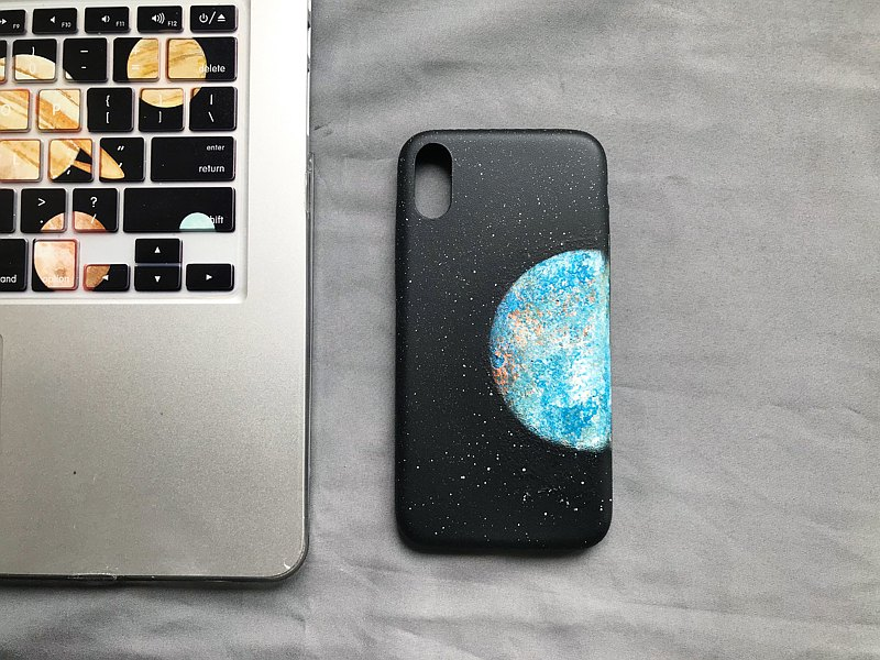 Hand sprayed Earth IPhone Case