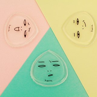<Exotic combination> Baby Q transparent puff your mood series (short + hum + tut)