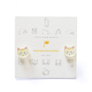 Cat Studs - Kitty Earrings - Little Earrings - Cute Earrings