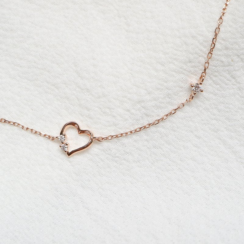 Small love diamond bracelet