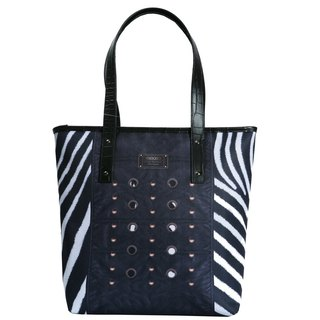 Tottenham star love punk zebra │ │ │ Tote handbag shoulder bag │ │ shoulder bag | Bags TUTORIAL