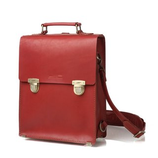 JIMMY RACING British retro wind shoulder bag - red B243S-RD2