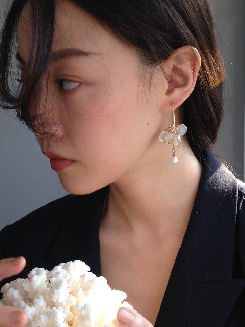 Flower G major earrings / ear clips
