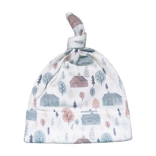 [Deux Filles organic cotton] cute forest with baby hat