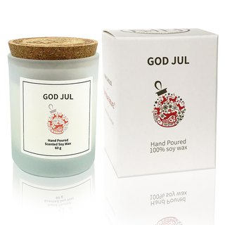 Swedish Design 60g GOD JUL Soy Wax Candle - Xmas Scent