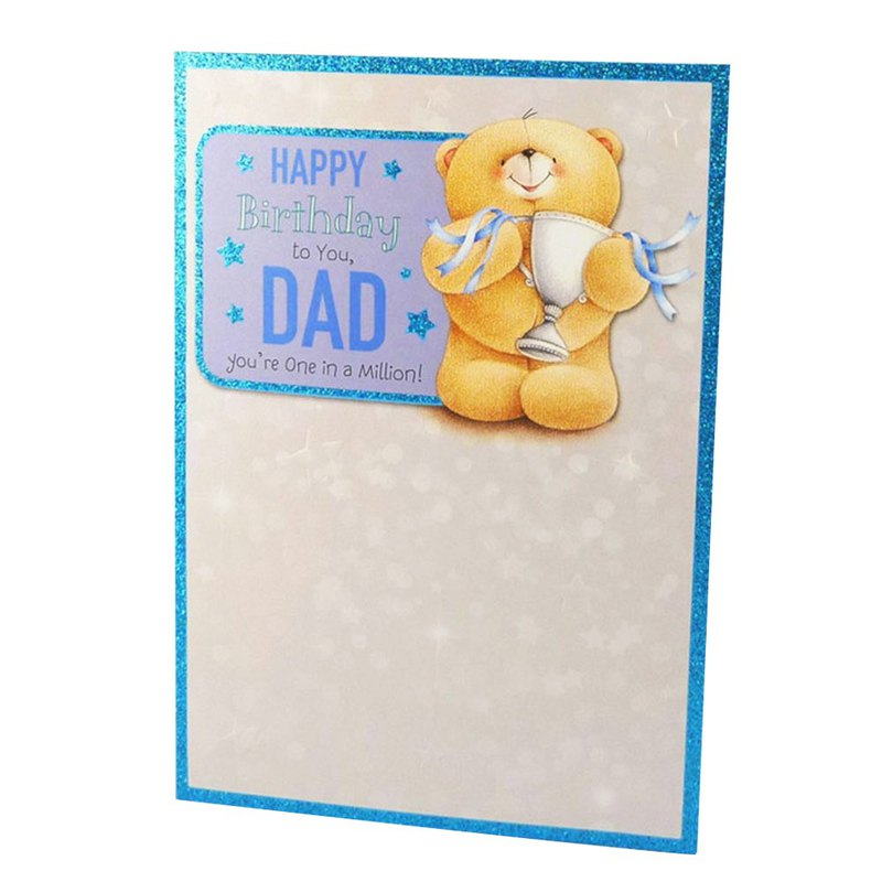 Dear Dad [Hallmark-ForeverFriends-Card Birthday Blessing]