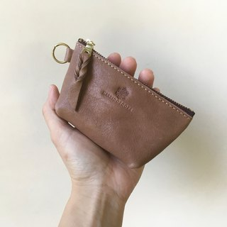 JAPAN Leather Nume leather mini pouch barco Gureju