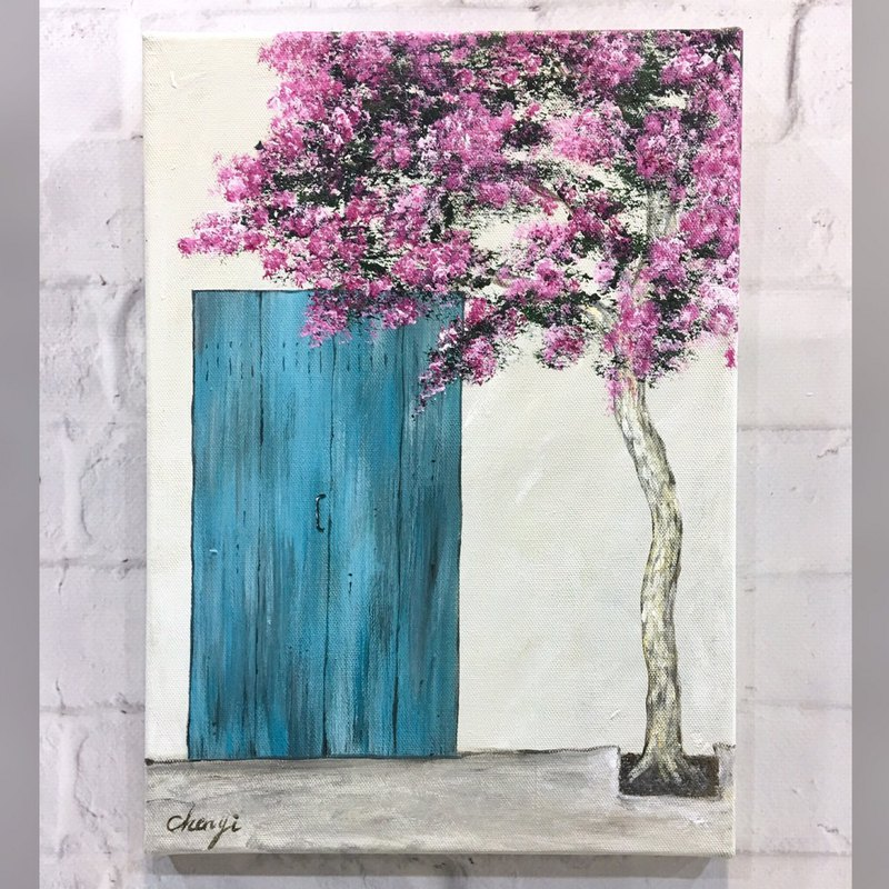 【Workshops】Acrylic Color Painting Teaching-Single Lesson-Serenity (Wen Qingfeng) (Oil Painting Texture)