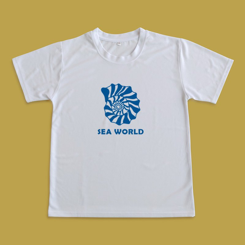 Moisture wicking shirt _SEA WORLD_shell