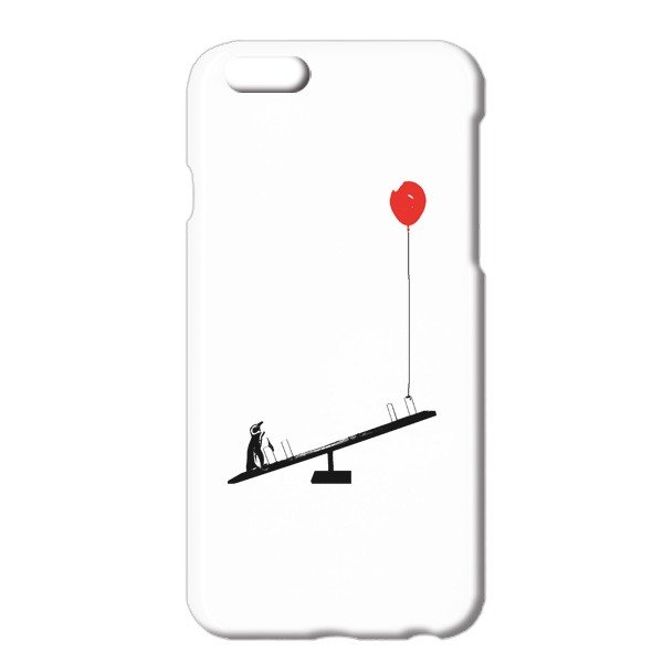 [IPhone Cases] penguin and balloons and a seesaw