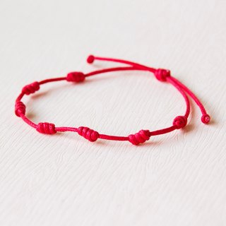 Continuation / hand-woven bracelet