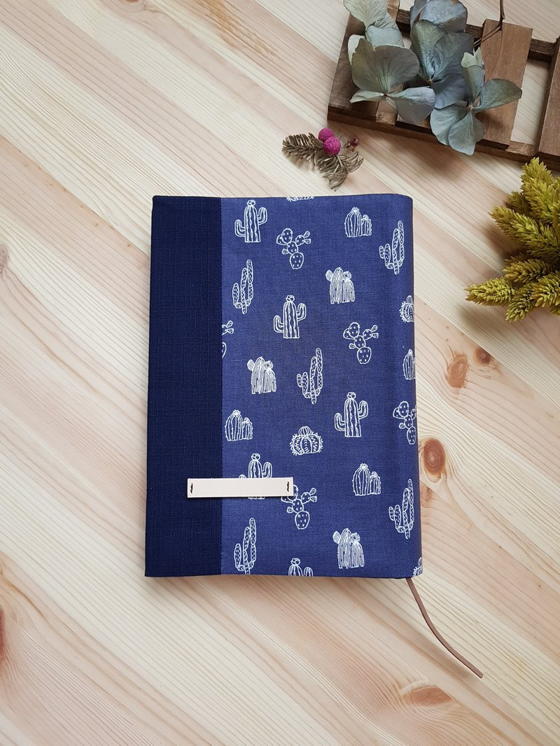 A5/25K cloth book cover adjustable book cover cactus