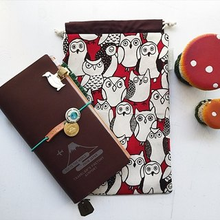 hairmo. Chat owl PDA pouch - spot (TN / hobo / notebook / log)