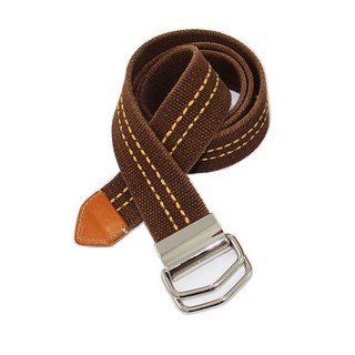 Double loops color belt belt