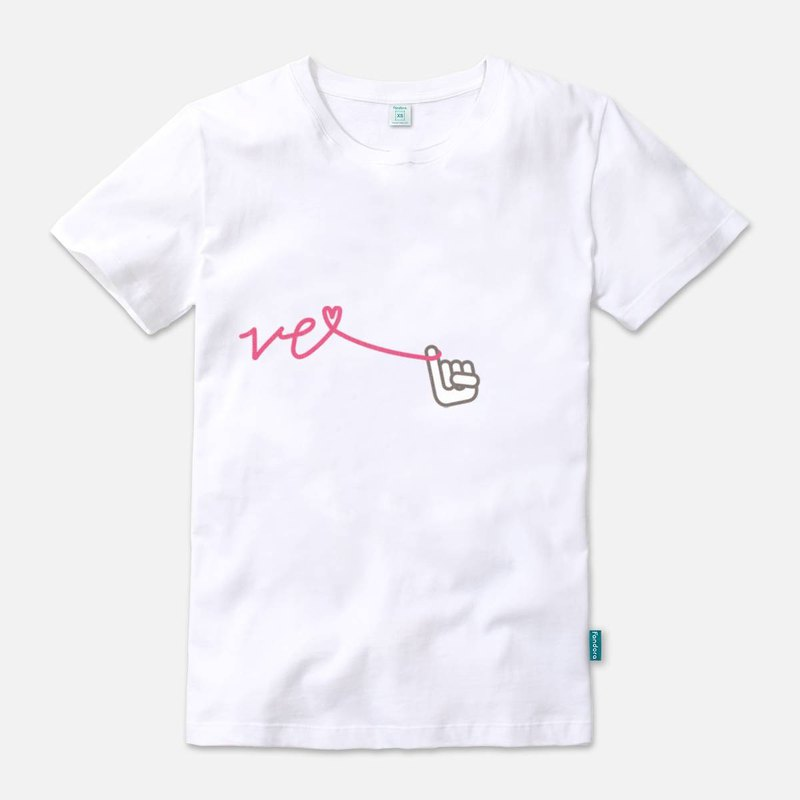 Our Love Line-VE - Straight t-shirt