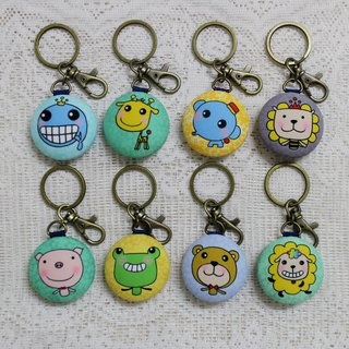 Macarons Charm Keyring_Lovely Zoo Series