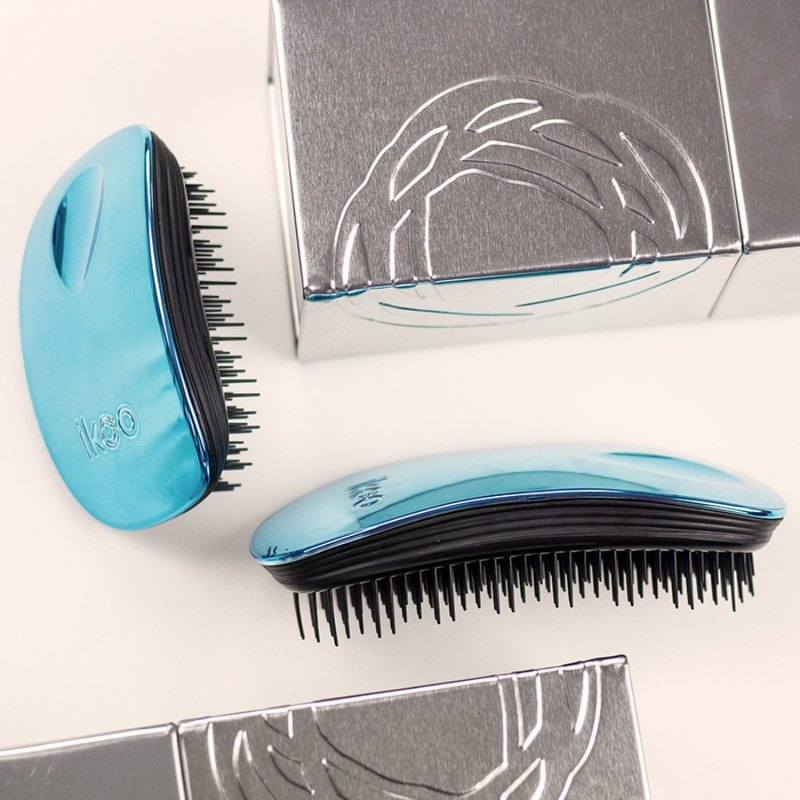 [Offer 2 pieces] German magic function hair comb (metal cherry ocean blue home + carry)