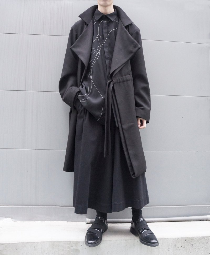 19AW 可變形多穿羊毛大衣