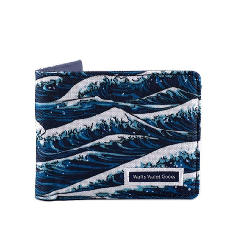 Keio Nami - Polyester Canvas Wallet
