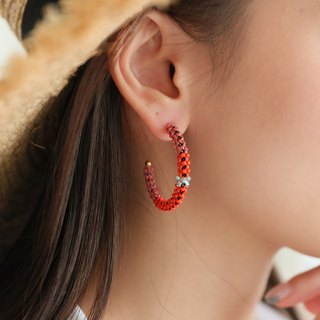 Happy Hour Hoop Earrings