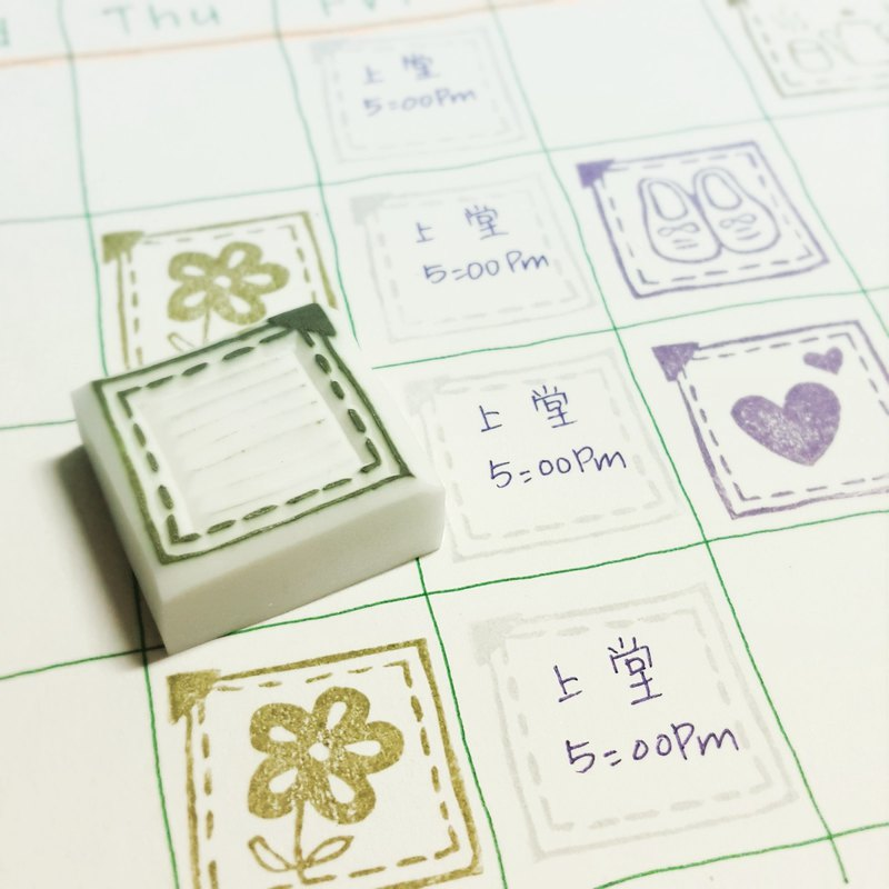 【Stamp】For Schedule