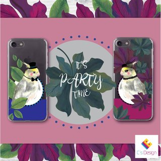 Party Parrot B - iPhone X 8 7 6s Plus 5s Samsung note S8 S9 Phone Case