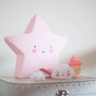 Netherlands a Little Lovely Company - healing star night light - pink