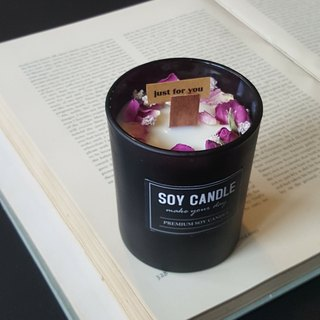 Rose skin care soy candles / home decorations / gifts / dry flowers