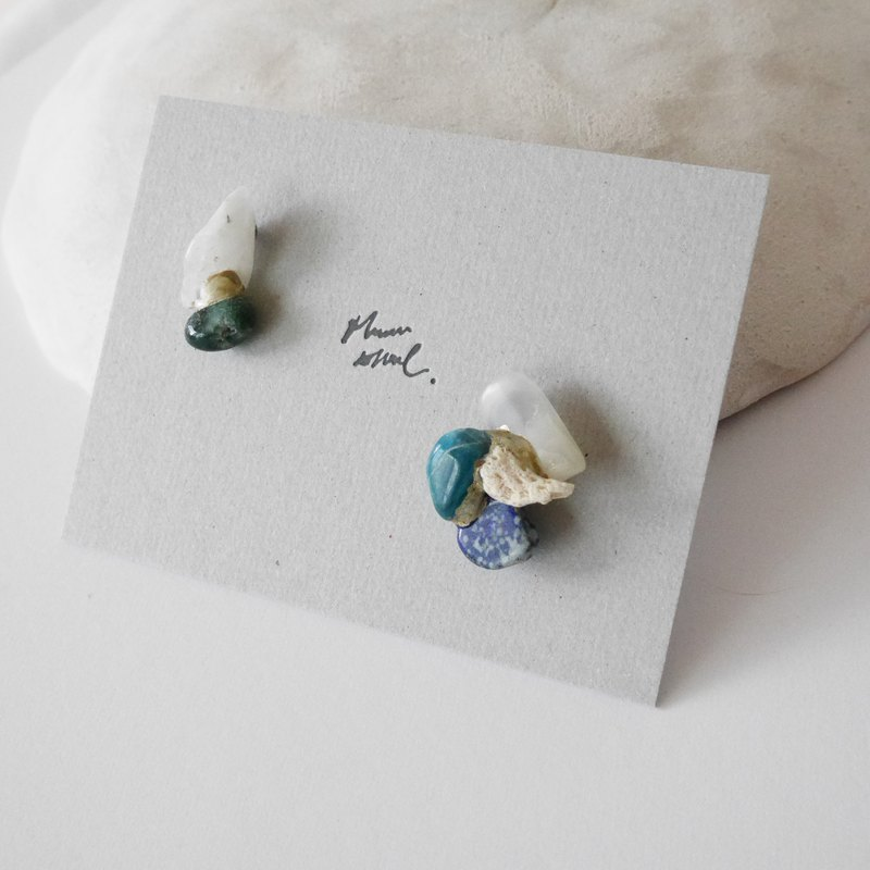 Jin Ji earrings ピアス / イヤリング | sea series no.55