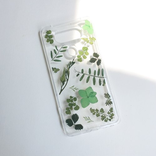 Photosynthesis :: Herb Green IPHONE Phone Case pressed flower phonecase