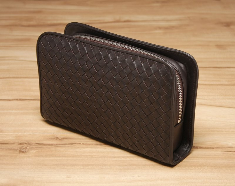STORYLEATHER made Style 6302 knit Clutch