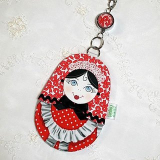 Matryoshka path Case maid / red B (MP-132)