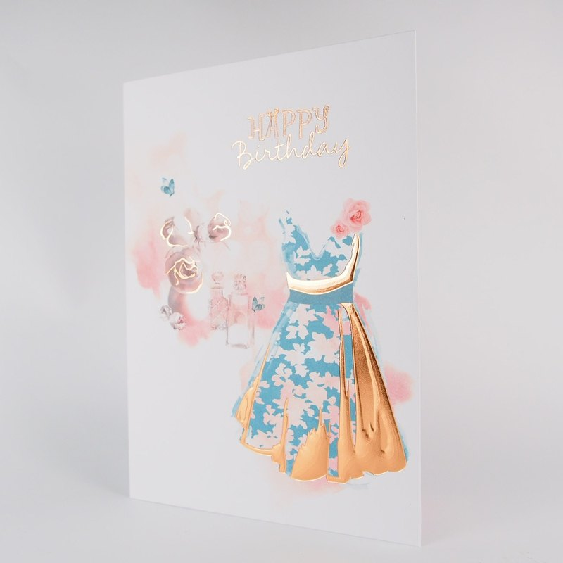 I wish my birthday is as beautiful as a halberd [Hallmark-card birthday greeting]