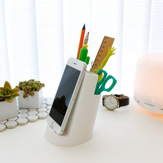 2-in-1 multi-function mobile phone holder pen holder