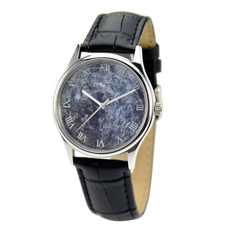 Moon Watch (Landings Map) - Unisex - Free Shipping Worldwide