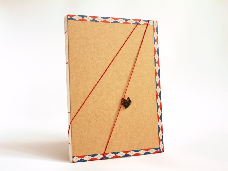 Handmade A5 Notebook - Snail Mail