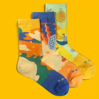 20% off / Bundle Socks Gift Box |Crew Socks | Gift |Mens Socks | Womens Socks