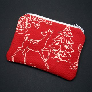 Zipper pouch / coin purse (padded) (ZS-218)