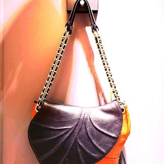 Leaf fashion woman bag
