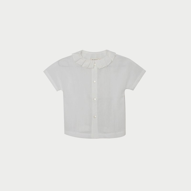 Cotton Clown Collar Shirt