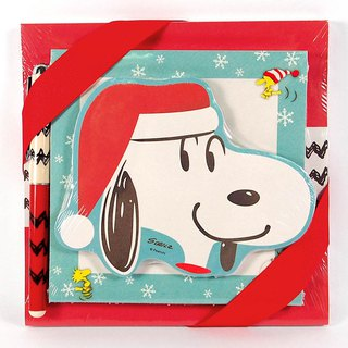Snoopy Christmas Note Set 250 into [Hallmark-Peanuts Snoopy Christmas Series]