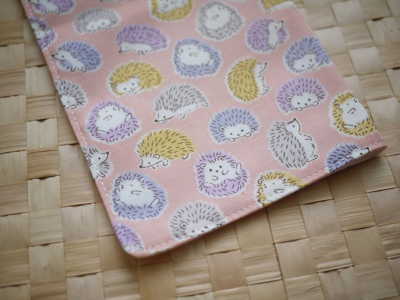 Limited edition section = Taiwan double yarn handkerchief = hedgehog = pink