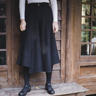 SYAO / wool pants open both sides of the wild models