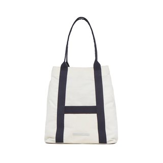 Roaming Series - Classic Leisure Tote Bag - Blue and White - RTO295WN