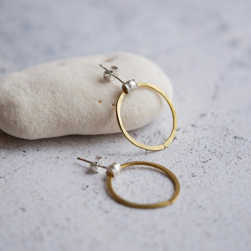 Karen Sillver+Brass MARU Earrings