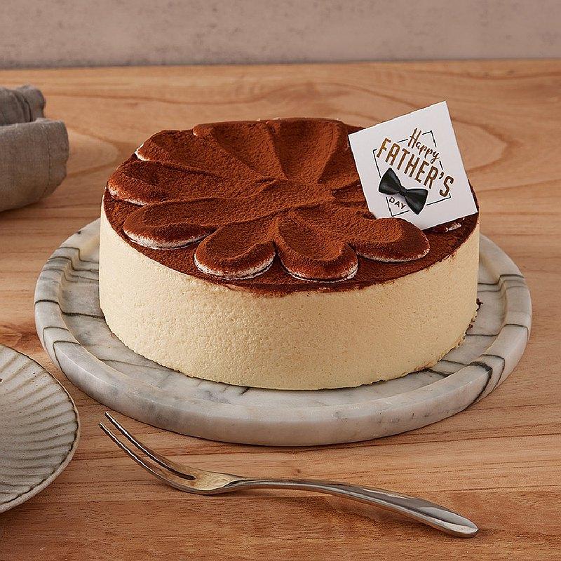 【喜憨兒父親節蛋糕】寵愛爸爸-提拉米蘇6吋