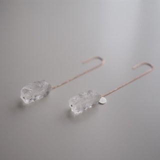 Earrings:  The Brighton Earrings - E009 Rose gold/E009 Silver