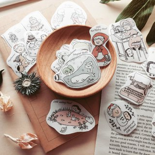 And paper stickers l fairy illustrator の forest and wilderness
