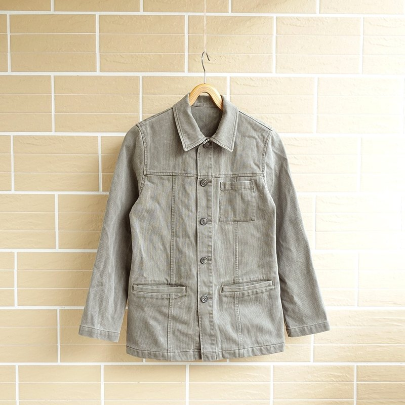 │Slowly │ retro pocket cotton - ancient cowboy jacket │ vintage. Retro.